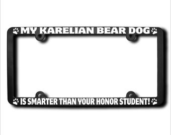 Bear License Plate Etsy
