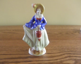 Occupied Japan Lady Figurine