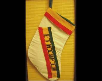 Embroidered Ethiopian Stockings (Item 45)