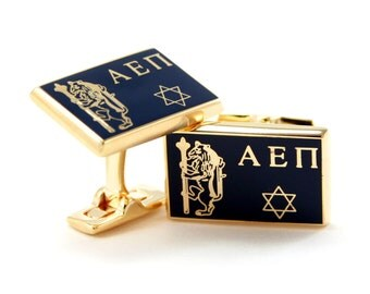 Alpha Epsilon Pi Cuff Links (Gold-Plated)