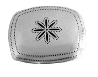 Silver Snowflake Belt Buckle -  Gift Ideas  for her - mom - girlfriend - daughter