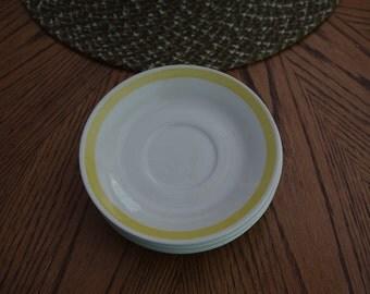 Stoneware Saucers