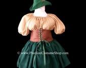 Sexy ROBIN HOOD Plus Size Halloween Costume Maid Marian Adult Womens Size 1X 2X 3X 4X 5X - 4 pcs New