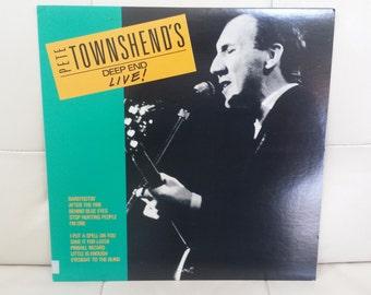"Pete Townshend- ""Pete Townshend's Deep End Live!"" vinyl record"