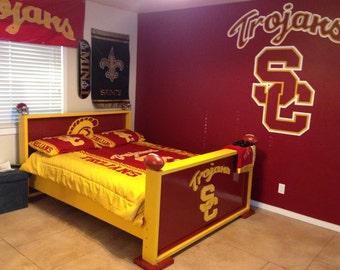 Items similar to Toddler Bed Frame sports theme baseball