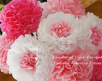 Shades of Pink Bouquet (12 count)