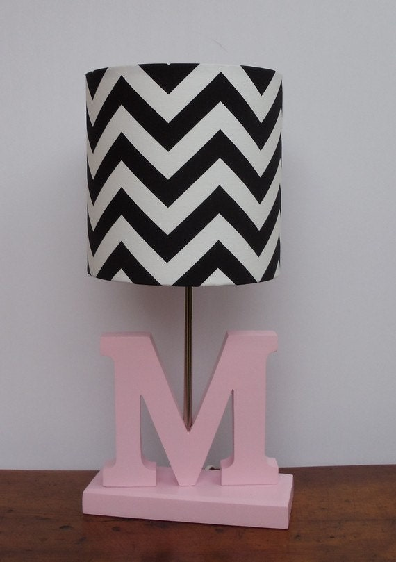 small black white chevron drum lamp shade. Black Bedroom Furniture Sets. Home Design Ideas