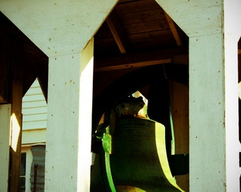 "Fine Art Photo - Title: ""Churchbell"" - billi j miller photography - Newfoundland, green, Canada, Eastern Canada, Atlantic"