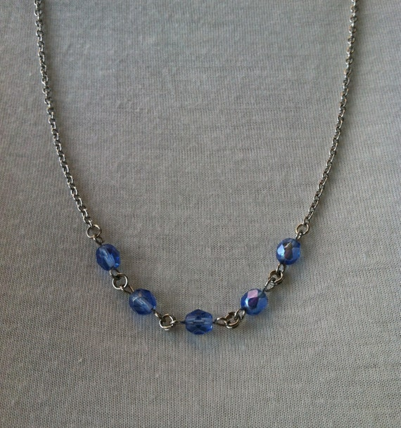 items similar to handmade jewelry midwinter blue on etsy