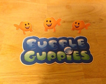 "Bubble Guppies 8"" Die Cut"