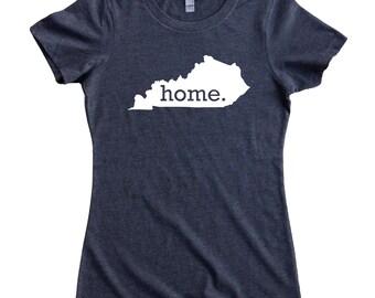 Homeland Tees Kentucky Home State Women's T-Shirt