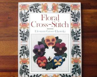 Floral Cross-Stitch Eleonore Gross-Ekowski Softback