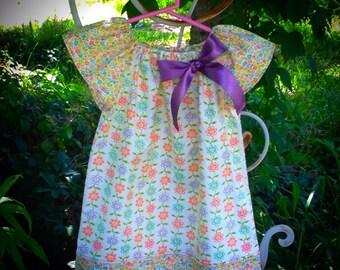 """Floral """"Brooke"""" Peasant Dress"""