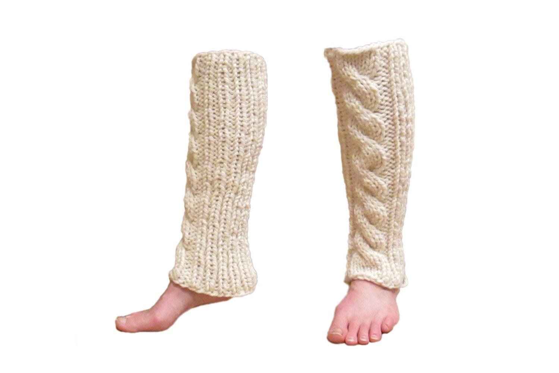 Knitting Pattern Leg Warmers Circular Needles : INVENTIVENESS Cable Knit Leg Warmers Knitting by bromefields