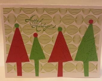 Christmas Tree Greeting Cards