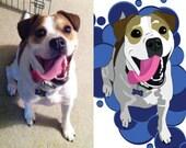 Digital File Only - Custom Pet Illustration