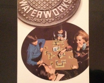 1972 Waterworks, Parker Brothers' Leaky Lead Pipe Card Game