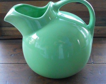 Vintage Green Chefsware Pitcher by Coors Co.