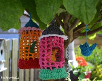 Bird House *CROCHET PATTERN / Vogelkooi *HAAKPATROON*