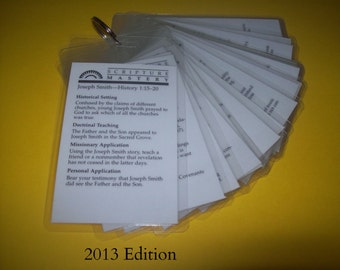 Doctrine & Covenants - Scripture Mastery - Key Chain Book - 2013 Edition