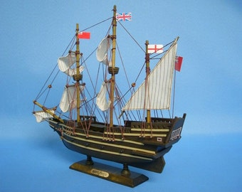 """Mayflower 14"""" / Model Ships / Tall Ships / Exploration Ships from the Age of Discovery / Columbus"""