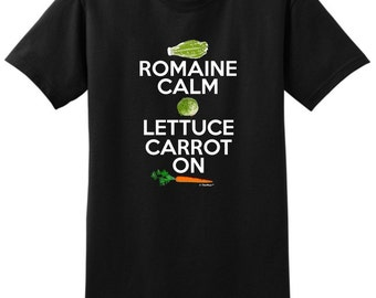 Romaine Calm and Carrot On T-Shirt 2000 - WRS-228T