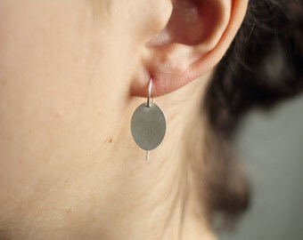 Ohrringe Silber 925 Sterling: BLOSSOM ear simple, Leichte Ohrringe aus 925 Sterling Silber