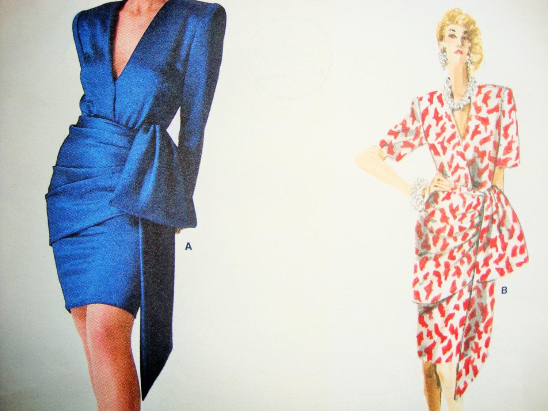 Uncut Retro Vogue Paris Original Givenchy Dress Sewing Pattern