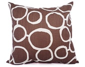 CLEARANCE One Brown Pillow Cover - Brown Throw Pillow Covers - Decorative Pillow - 12x16 12x18 14x14 16x16 18x18 20x20 22x22 24Pillow Sham