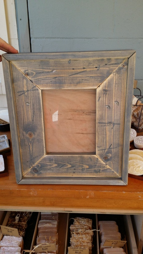 handmade wood picture frames reclaimed wood handmade picture frames by stcreekprimitives 5559