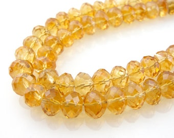Tough Sunshine, Fine Citrine and Sterling Silver Necklace by A. Elyse Designs X2FZFF-D