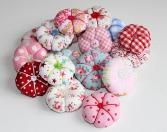 Mini handmade pincushions