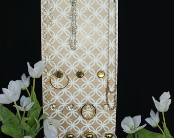 Jewelry Wall Organizer Golden Glam Dangleboard The NEW jewelry board organizer - FREE SHIPPING