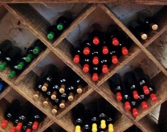 Vineyard Wine Bottles 1/12 Scale Miniature Dollhouse Accessory