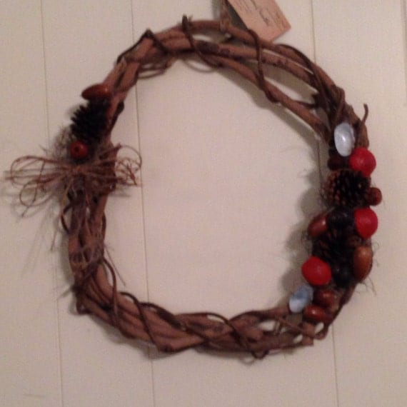 Wreath Natural Handmade Wreath Wall Hanging By