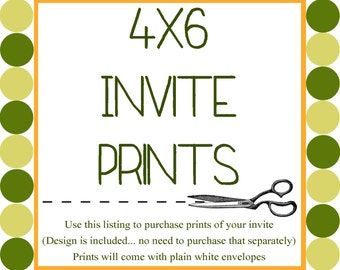 4x6 Birth Announcement Prints