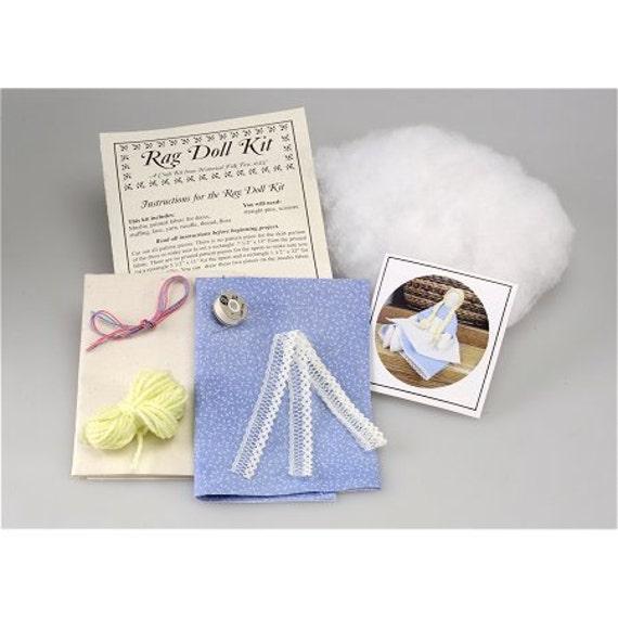 Rag Doll Kit (hft4715) From CraftedGift On Etsy Studio