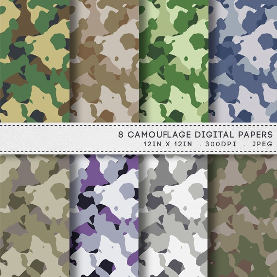 Effortless image with regard to camo printable paper