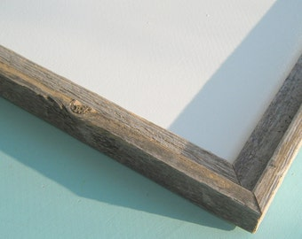 Rustic Framed Dry Erase Board / Reclaimed Wood / Business Sign / Distressed Wood /  Industrial / 18 x 24