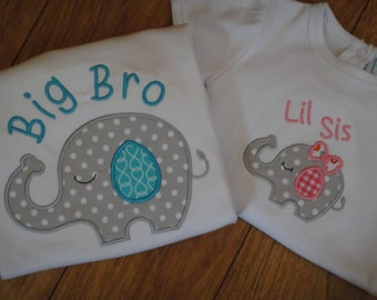 Big Brother Shirt, Little Sister Shirt, Onesie