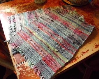 c-vintage rag placemats