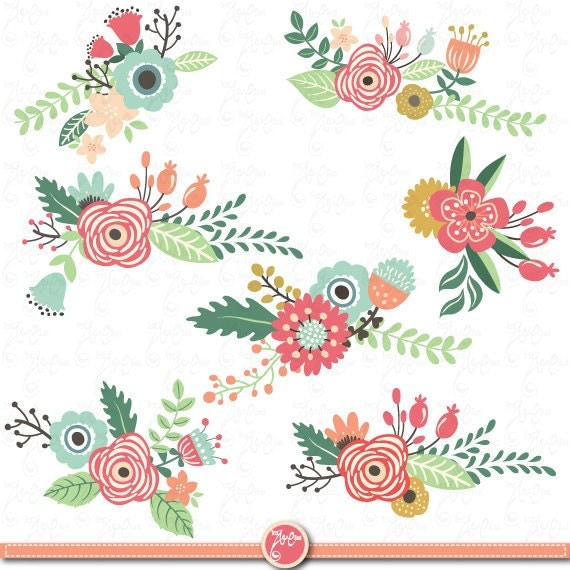 clipart floral banner - photo #5