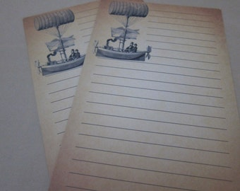 Steampunk Writing Sheets