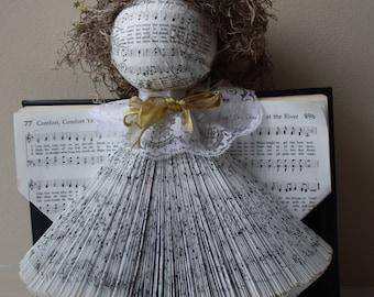Vintage Hymnal Angel