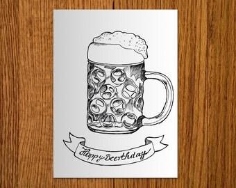 Birthday Card - PDF