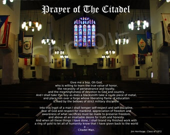 The Citadel - Prayer of The Citadel - 8x10 Glossy