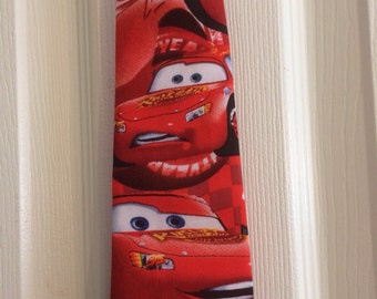 Lighting McQueen youth tie