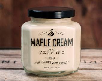100% Pure Vermont Maple Cream (1/2 Pound)