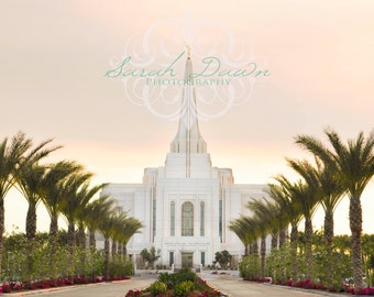 Gilbert, Arizona LDS Mormon Temple Horizontal
