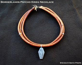 Borderlands Custom Psycho Krieg Necklace